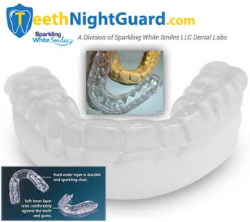 Hybrid Dual Laminate Night Guard | 3mm Thickness