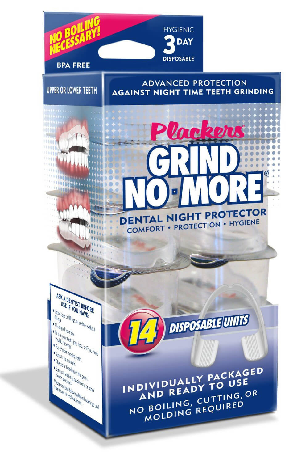 Plackers Grind No More Disposable Night Guards Review