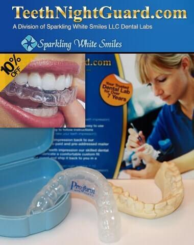 Teeth Night Guard (Sparkling White Smiles) Dental Lab   Review