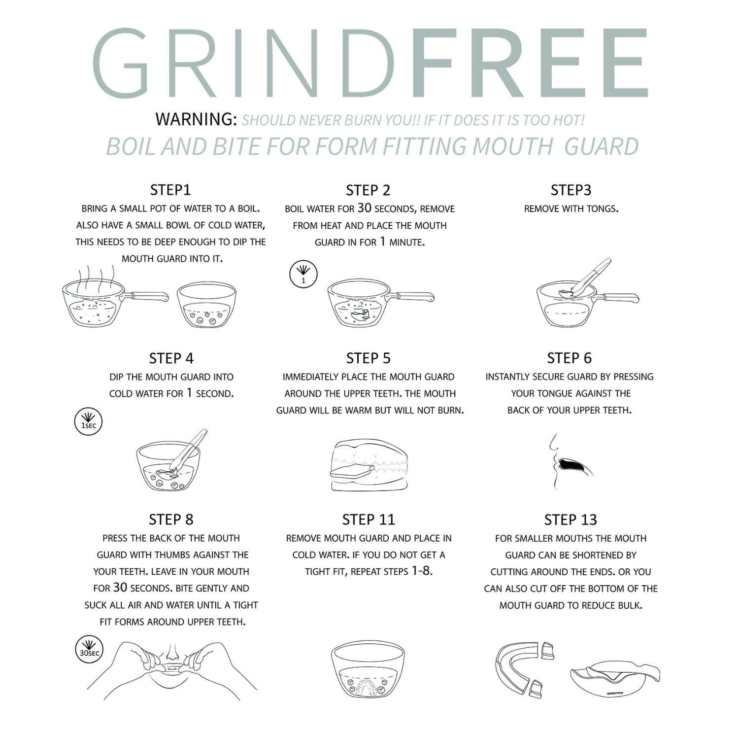 "Grind Free"" Mouth Guard – Full Review"